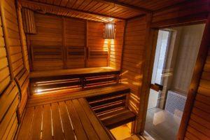 Salle De Bain, Bois De Chauffage, Conception, Sauna